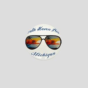 Michigan - South Haven Beach Mini Button