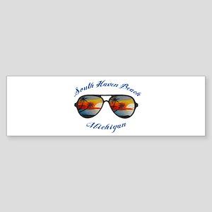 Michigan - South Haven Beach Bumper Sticker