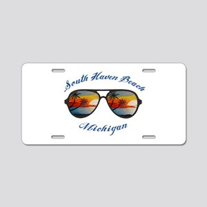 Michigan - South Haven Beac Aluminum License Plate