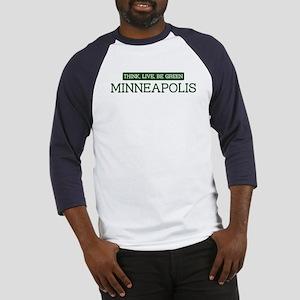 Green MINNEAPOLIS Baseball Jersey