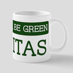 Green MILPITAS Mug