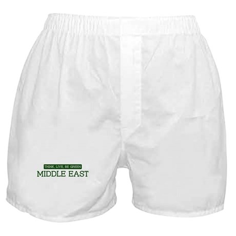 Green MIDDLE EAST Boxer Shorts