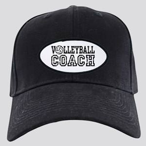 Volleyball Coach Black Cap