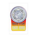 DarkStar WarpDrive Engine Sticker Rectangle 10 pk