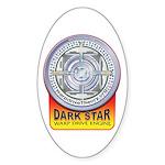 DarkStar WarpDrive Engine Oval Sticker (50 pk)