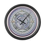 DarkStar WarpDrive Engine Large Wall Clock