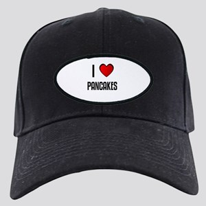 I LOVE PANCAKES Black Cap