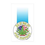Hemp for Victory Sticker (Rectangle 10 pk)