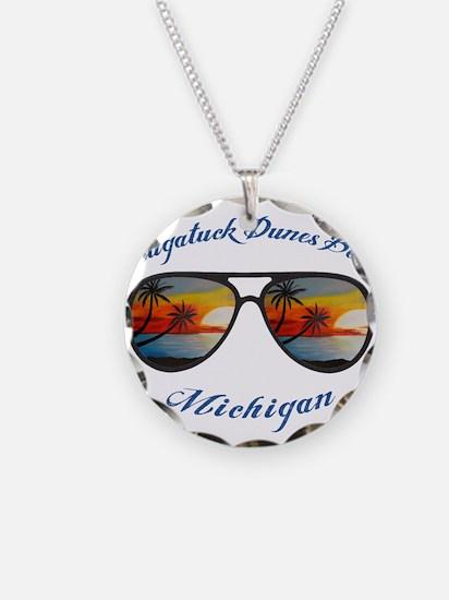 Michigan - Saugatuck Dunes B Necklace