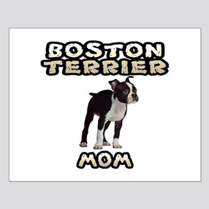 Boston Terrier Mom Small Poster