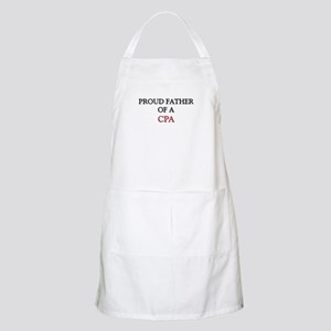 Proud Father Of A CPA BBQ Apron