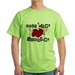 Only dates vampires Green T-Shirt