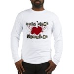 Only dates vampires Long Sleeve T-Shirt