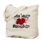 Only dates vampires Tote Bag