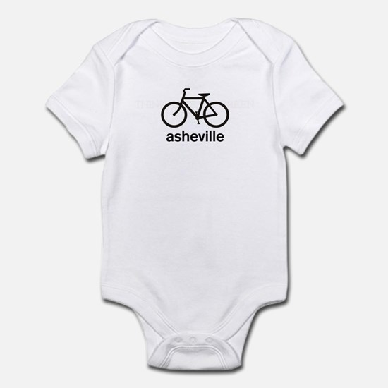 Bike Asheville Infant Bodysuit