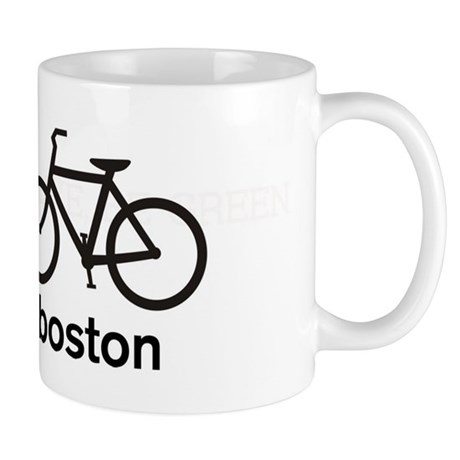 Bike Boston Mug