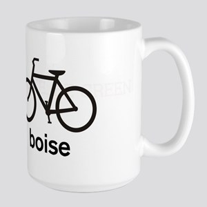 Bike Boise Large Mug
