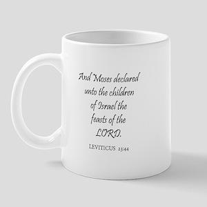 LEVITICUS  23:44 Mug