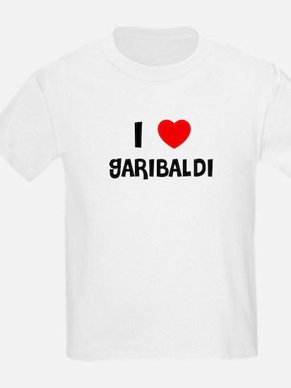 I LOVE GARIBALDI Kids T-Shirt