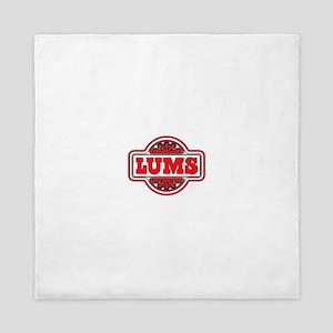 Vintage Lum's Restaurant logo Queen Duvet