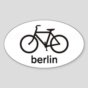 Bike Berlin Oval Sticker