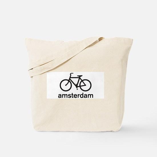 Bike Amsterdam Tote Bag