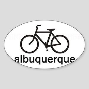 Bike Albuquerque Oval Sticker