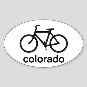 Bike Colorado Oval Sticker