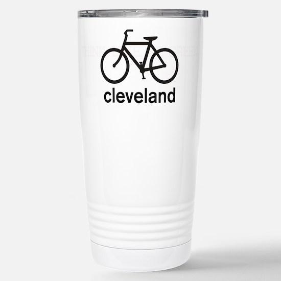 Bike Cleveland Stainless Steel Travel Mug