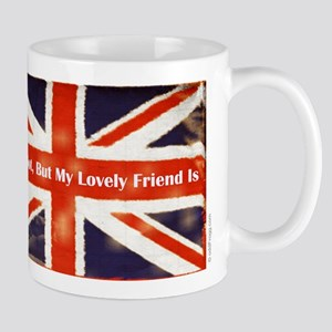Union Jack British Friends Mug