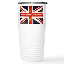 Union Jack British Friends Stainless Steel Travel