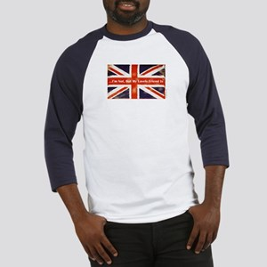 Union Jack British Friends Baseball Jersey