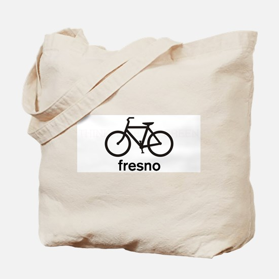 Bike Fresno Tote Bag