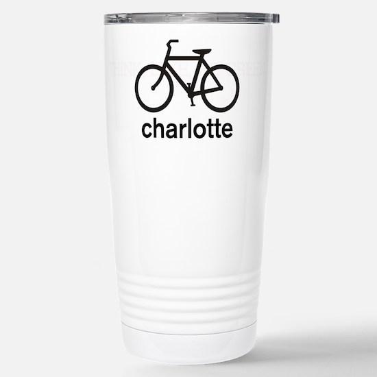 Bike Charlotte Stainless Steel Travel Mug