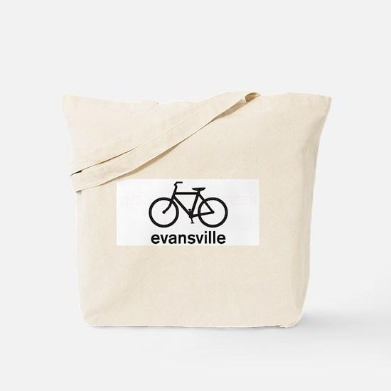 Bike Evansville Tote Bag