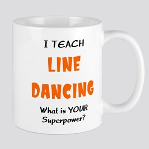 teach line dance 11 oz Ceramic Mug