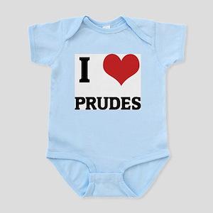 I Love Prudes Infant Creeper