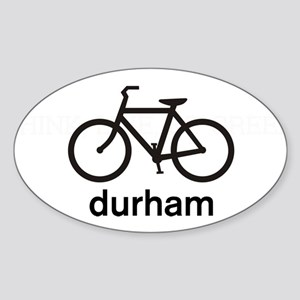 Bike Durham Oval Sticker