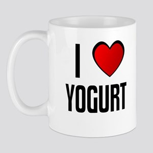 I LOVE YOGURT Mug