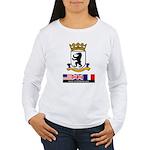 Cold War Berlin Women's Long Sleeve T-Shirt