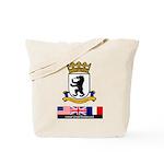 Cold War Berlin Tote Bag