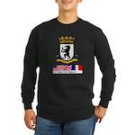 Cold War Berlin Long Sleeve Dark T-Shirt