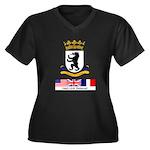 Cold War Berlin Women's Plus Dark T-Shirt