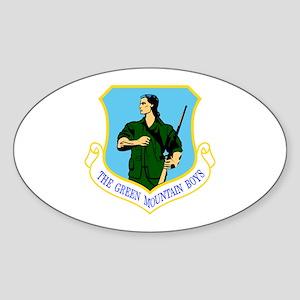 158th Oval Sticker