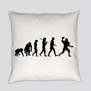 Evolution of Football Everyday Pillow