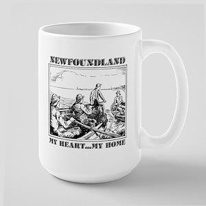 My Heart...My Home Large Mug