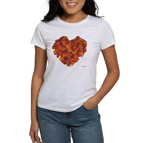 Bacon Heart - Women's T-Shirt