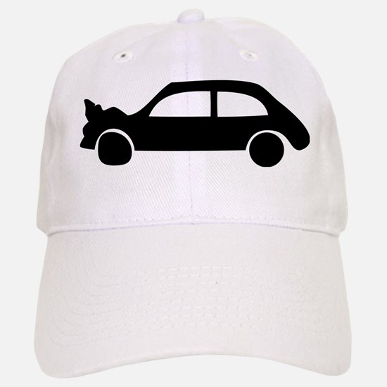black crash car Baseball Baseball Cap