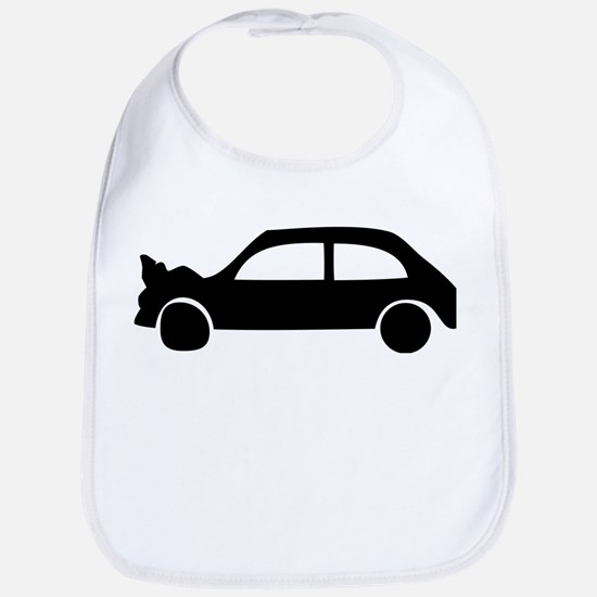 black crash car Bib