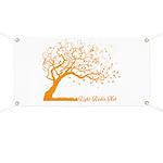 Automne Leaves Orange Banner
